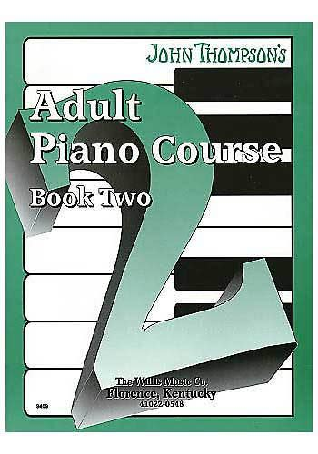 1 adult book course elementary john level mid piano thompsons