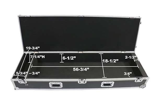 Osp ata xf8 wc case with recessed casters for yamaha motif for Yamaha motif xs8 specs