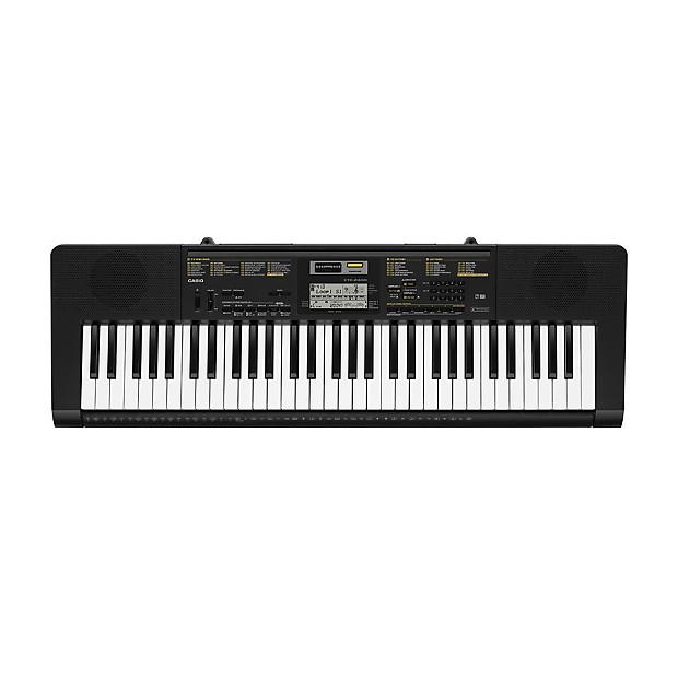 casio ctk 2400 61 key beginner digital piano keyboard w reverb. Black Bedroom Furniture Sets. Home Design Ideas