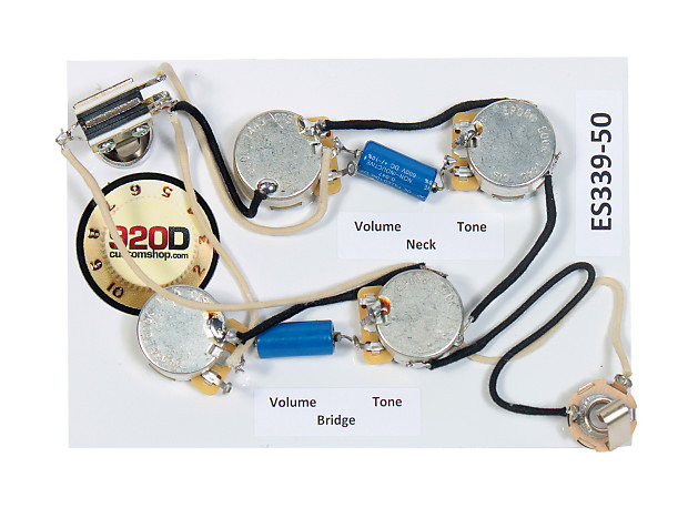 920d es 339 50 39 s wiring harness for gibson cts. Black Bedroom Furniture Sets. Home Design Ideas