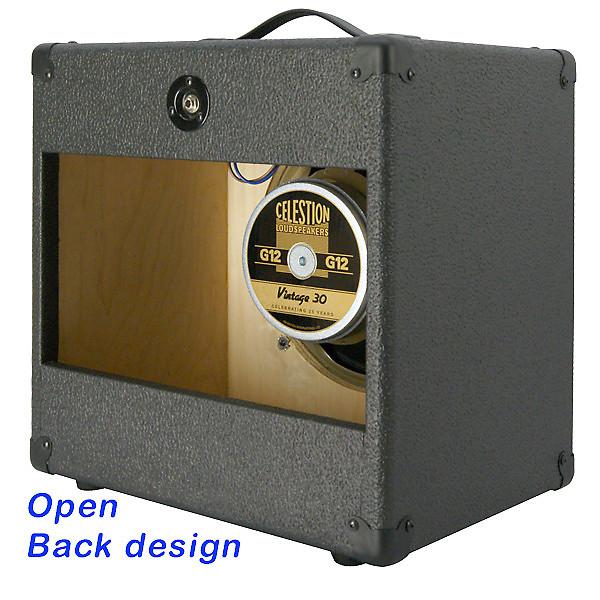1x12 guitar speaker extension cabinet with 8 ohms celestion reverb. Black Bedroom Furniture Sets. Home Design Ideas