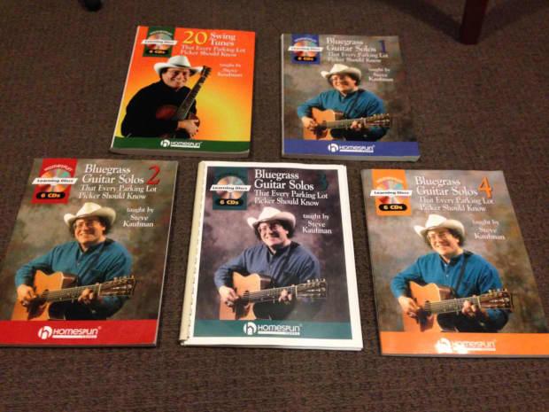 steve kaufman teaching bluegrass guitar pdf