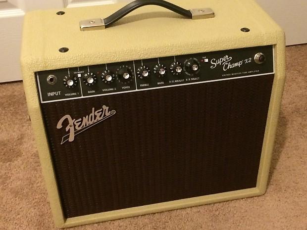 fender super champ x2 limited edition blonde guitar combo amp reverb. Black Bedroom Furniture Sets. Home Design Ideas