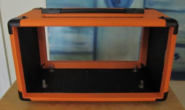 Custom Orange Terror Head Shell Case Reverb