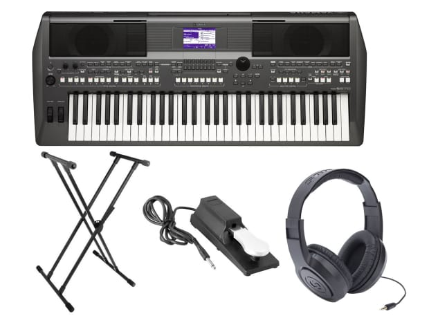 yamaha psr s670 61 key arranger workstation bundle reverb. Black Bedroom Furniture Sets. Home Design Ideas