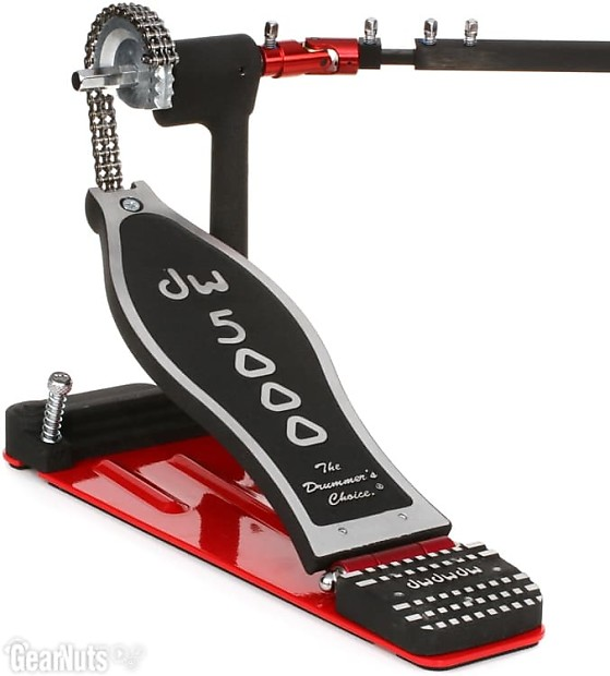 dw 5000 double pedal manual