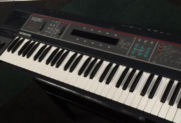 Curtis Auto Sales >> Ensoniq SQ80 SQ-80 Vintage CrossWave Analog Synth and Sequencer with Polyphonic Aftertouch   Reverb