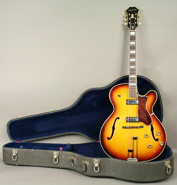 1966 epiphone broadway vintage archtop electric guitar reverb. Black Bedroom Furniture Sets. Home Design Ideas