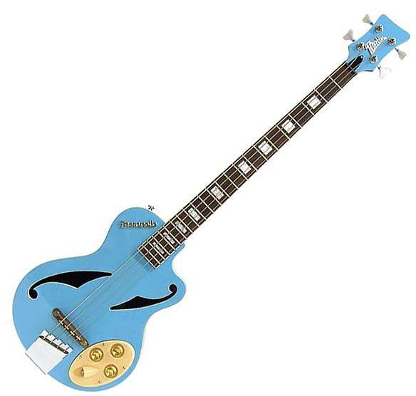 italia maranello z electric bass guitar blue reverb. Black Bedroom Furniture Sets. Home Design Ideas