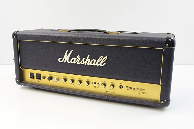 marshall vintage modern 2466 tube amplifier head reverb. Black Bedroom Furniture Sets. Home Design Ideas