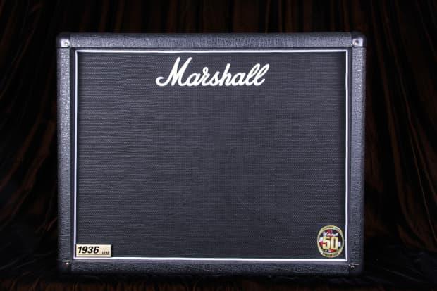 marshall 1936 2x12 cabinet 150 watt extention cabinet new reverb. Black Bedroom Furniture Sets. Home Design Ideas
