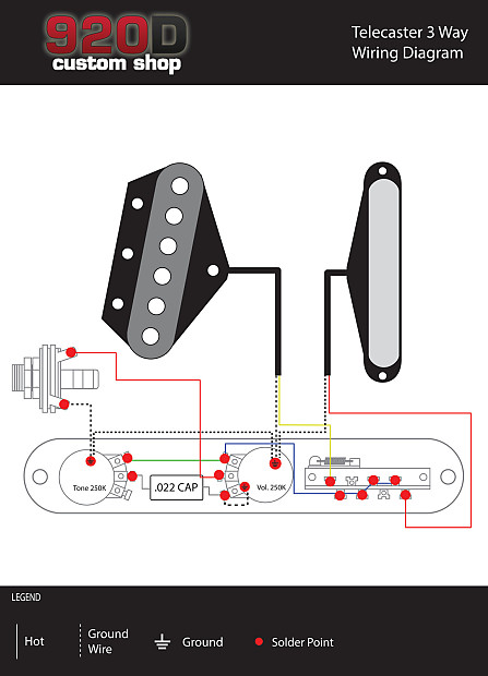Telecaster Switch Wiring Diagram