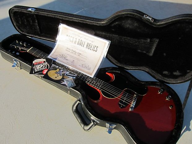 Rock n roll relics 61 model 1961 sg 2012 cherry red reverb - Rock n roll mobel ...