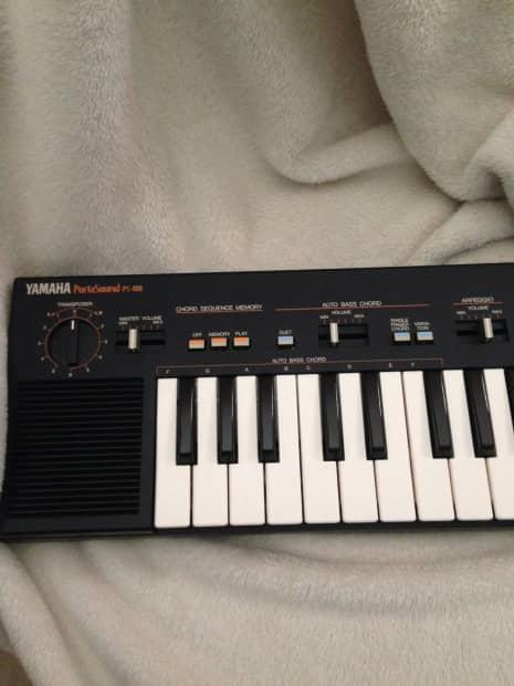 Vintage yamaha portasound 400 keyboard reverb for Yamaha dgx 660 manual