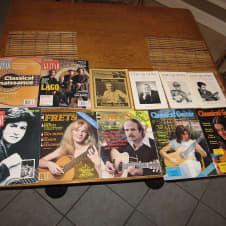 Lot of Twelve Classical Guitar Magazines image