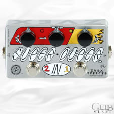 Zvex Vexter Super Duper 2-in-1 Boost & Overdrive Guitar Effects Pedal - VSD image