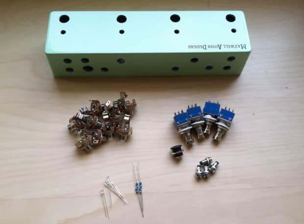 Maxwell Audio Designs Diy 4 Loop True Bypass Looper Kit
