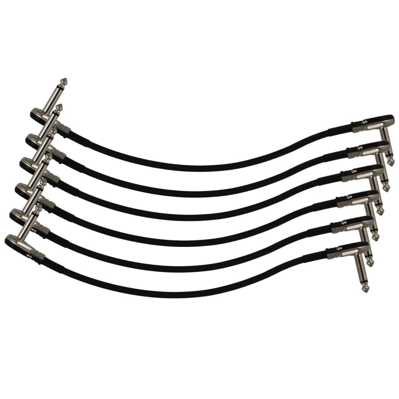 6 pack 12 s shape castline silver mogami 2319 guitar pedal reverb. Black Bedroom Furniture Sets. Home Design Ideas