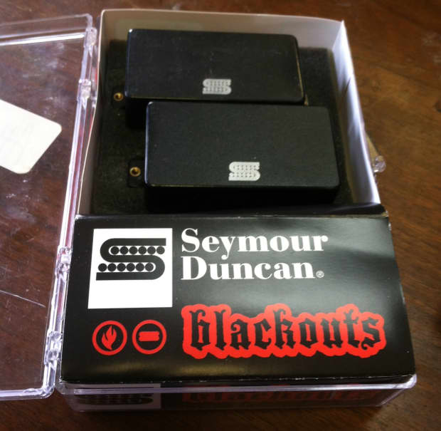 seymour duncan blackouts ahb 3 w all pots and wiring reverb