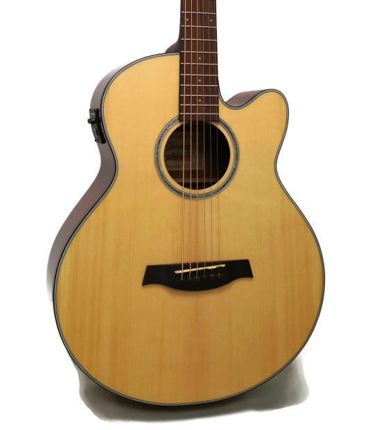 ibanez aelbt1 baritone acoustic electric guitar b b tuning 27 scale reverb. Black Bedroom Furniture Sets. Home Design Ideas