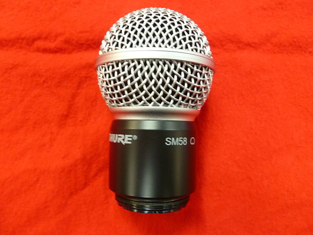 shure rpw112 sm 58 wireless replacement cartridge reverb. Black Bedroom Furniture Sets. Home Design Ideas
