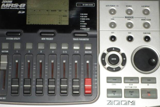 zoom mrs 8 digital 8 track recorder reverb. Black Bedroom Furniture Sets. Home Design Ideas