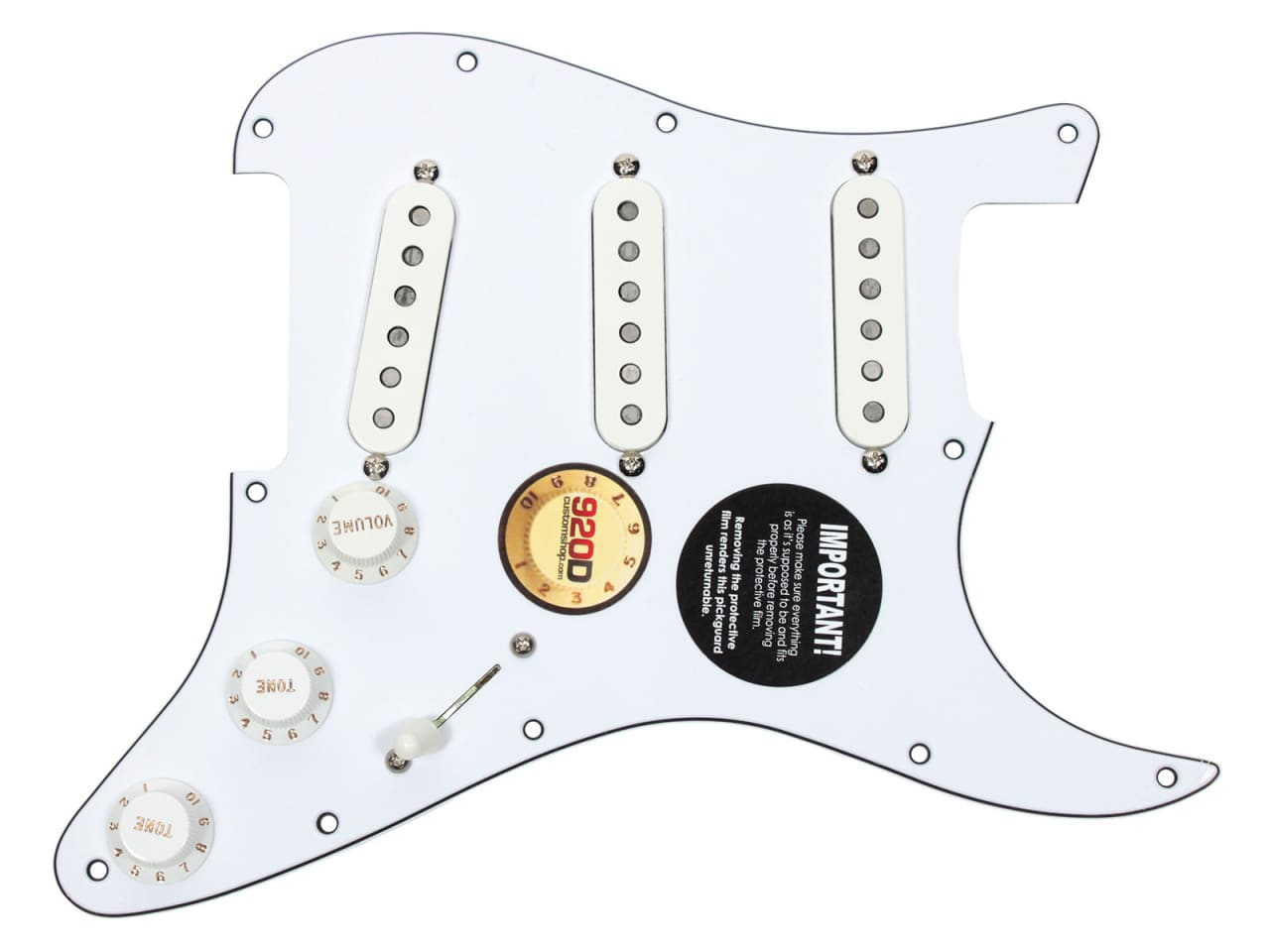 Dimarzio Area 58 Wiring Diagrams Auto Electrical Diagram 67 61 Strat Loaded Pickguard Wh