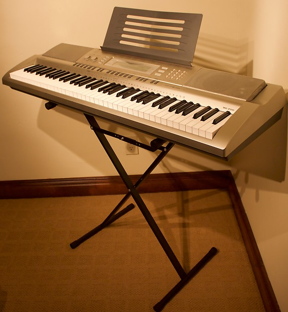 Casio Wk 200 Keyboard Stand Reverb