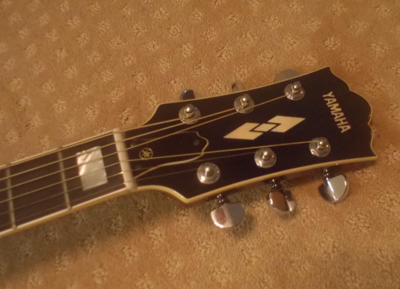 Rare vintage yamaha cj838s 79 81 lawsuit jumbo acoustic for Where are yamaha guitars made