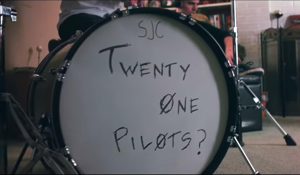 The SJC Custom Drum Kits of twenty one pilots' Josh | Reverb