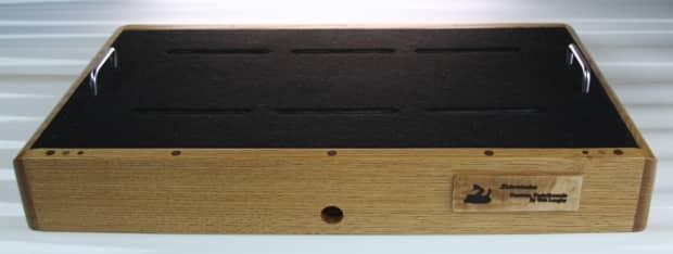 custom crafted sidewinder guitar pedal board oak reverb. Black Bedroom Furniture Sets. Home Design Ideas