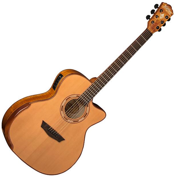 washburn wcg66sce grand auditorium acoustic electric guitar reverb. Black Bedroom Furniture Sets. Home Design Ideas