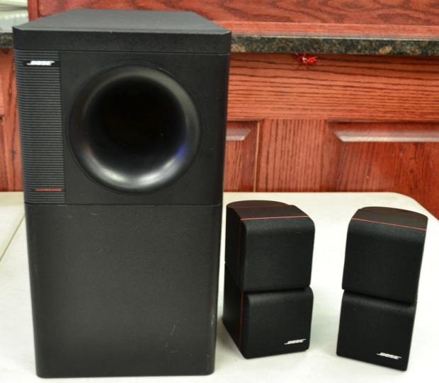 bose acoustimass 5 series ii home surround sound speaker. Black Bedroom Furniture Sets. Home Design Ideas