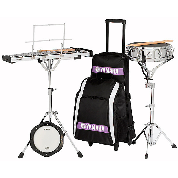 Yamaha sck 275r combo kit bell kit w snare drum reverb for Yamaha student bell kit with backpack and rolling cart