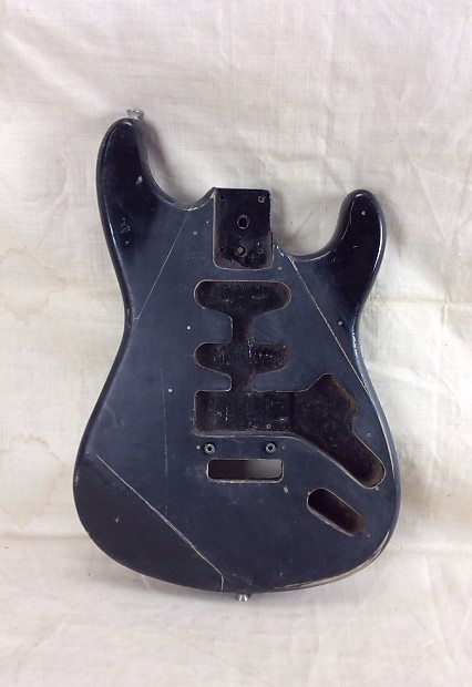 used vintage unknown stratocaster electric guitar body for reverb. Black Bedroom Furniture Sets. Home Design Ideas