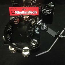 "Rhythm Tech RTDKP Drum Kit Pack Tambourine 5"" Cowbell DSM2 Mount * image"