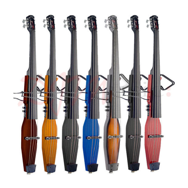 new stagg edb 3 4 trans black electric upright double bass w gig bag on sale free shipping reverb. Black Bedroom Furniture Sets. Home Design Ideas