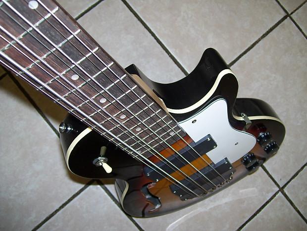 octave 8 string bass guitar reverb. Black Bedroom Furniture Sets. Home Design Ideas