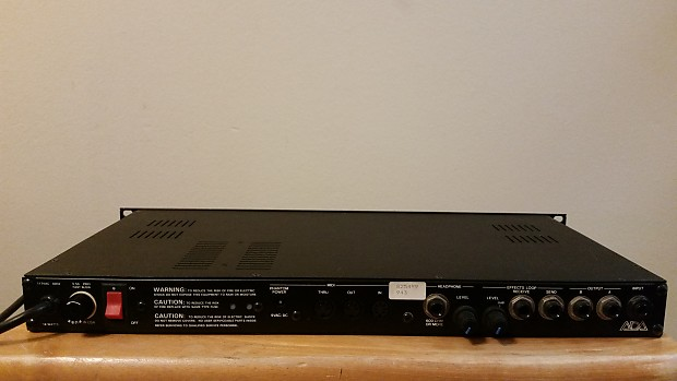 ada mp 1 rackmount tube guitar preamp v reverb. Black Bedroom Furniture Sets. Home Design Ideas
