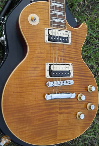 gibson les paul slash signature appetite amber price guide reverb. Black Bedroom Furniture Sets. Home Design Ideas