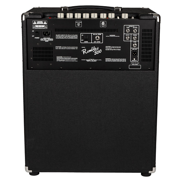 fender rumble v3 combo bass amplifier 500 watt reverb. Black Bedroom Furniture Sets. Home Design Ideas