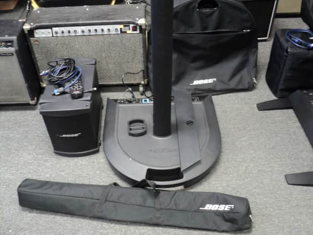 Bose Ps1 L1 With B1 Bass Module Portable Pa Line Array