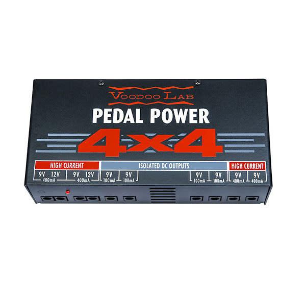 voodoo lab pedal power 4x4 reverb. Black Bedroom Furniture Sets. Home Design Ideas