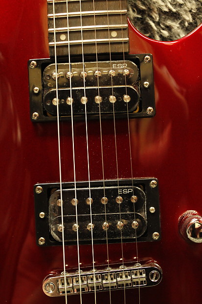 esp ltd mh 50 nt black cherry red guitar hdsc reverb. Black Bedroom Furniture Sets. Home Design Ideas