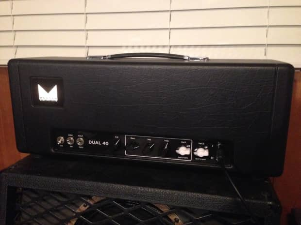 morgan dual 40 boutique guitar amplifier head reverb. Black Bedroom Furniture Sets. Home Design Ideas