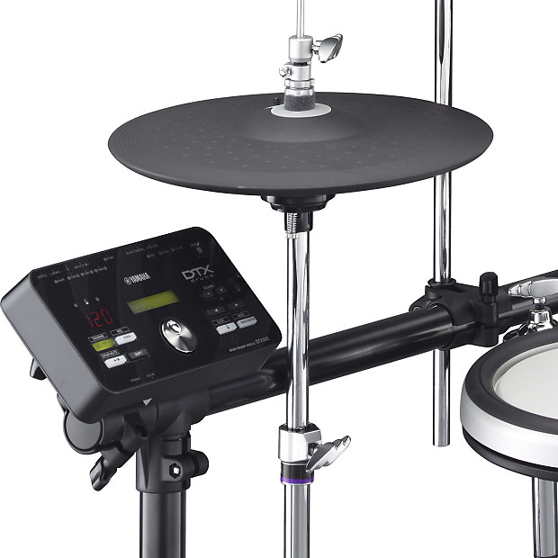 Yamaha dtx562k 5 piece digital electronic drum set kit w for Electronic drum set yamaha