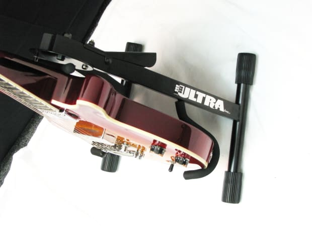 Ultra Gs2534 A Frame Electric Guitar Stand New With Easy