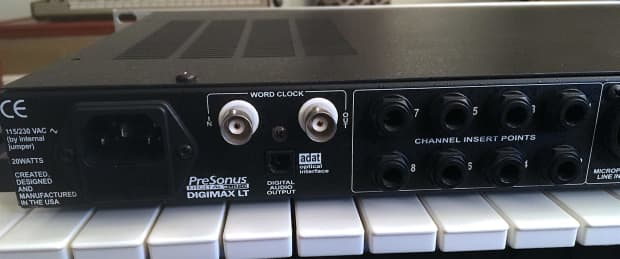 presonus digimax lt 8 channel mic preamp pre with adat reverb. Black Bedroom Furniture Sets. Home Design Ideas
