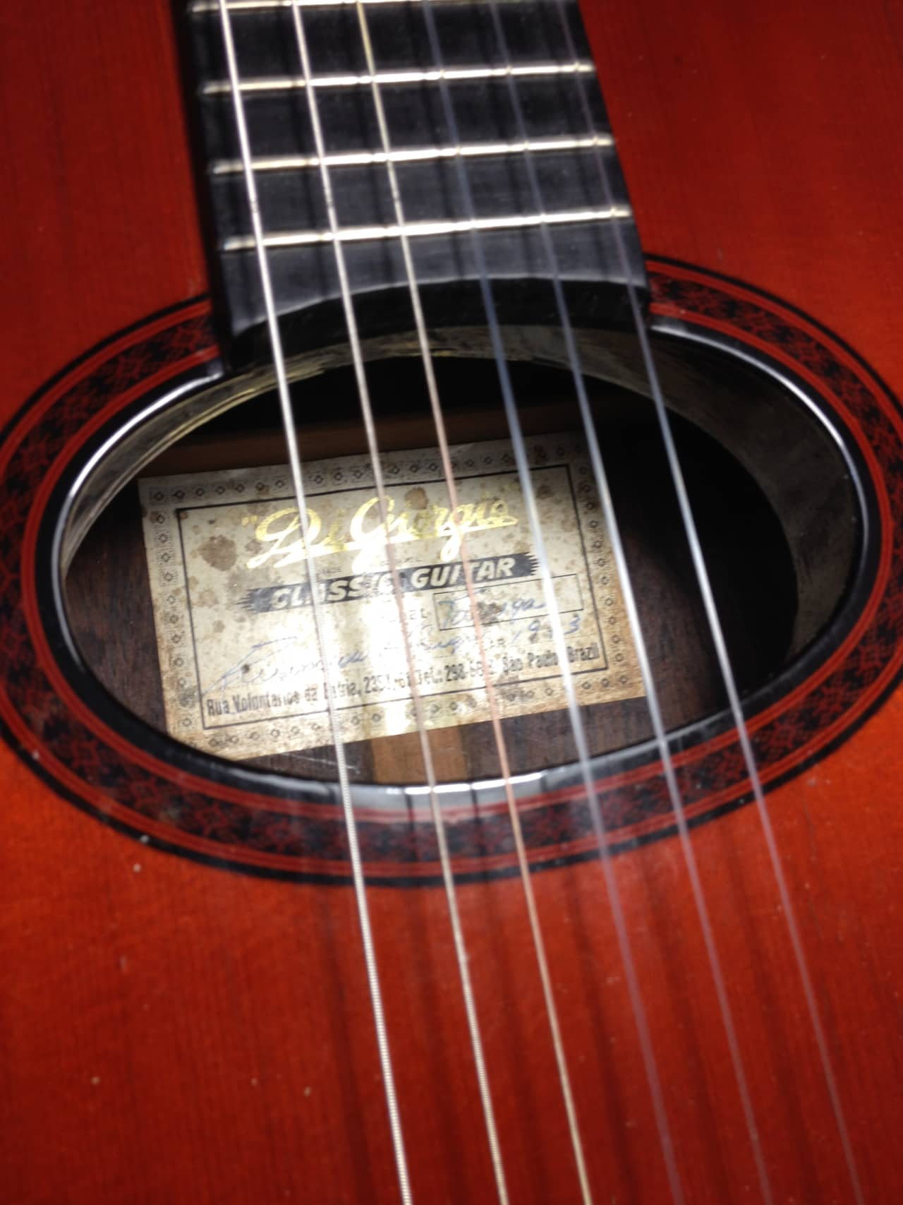 Guitar Di Giorgio Tarrega 1973 Reverb