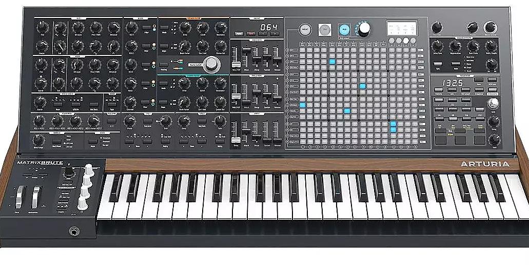 arturia matrixbrute analog synthesizer reverb. Black Bedroom Furniture Sets. Home Design Ideas